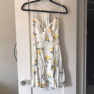 Lemon summer dress!